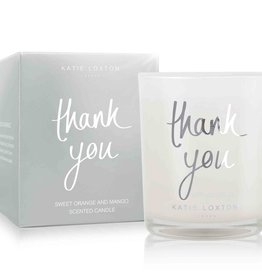 Katie Loxton KL Metallic Candle Thank You