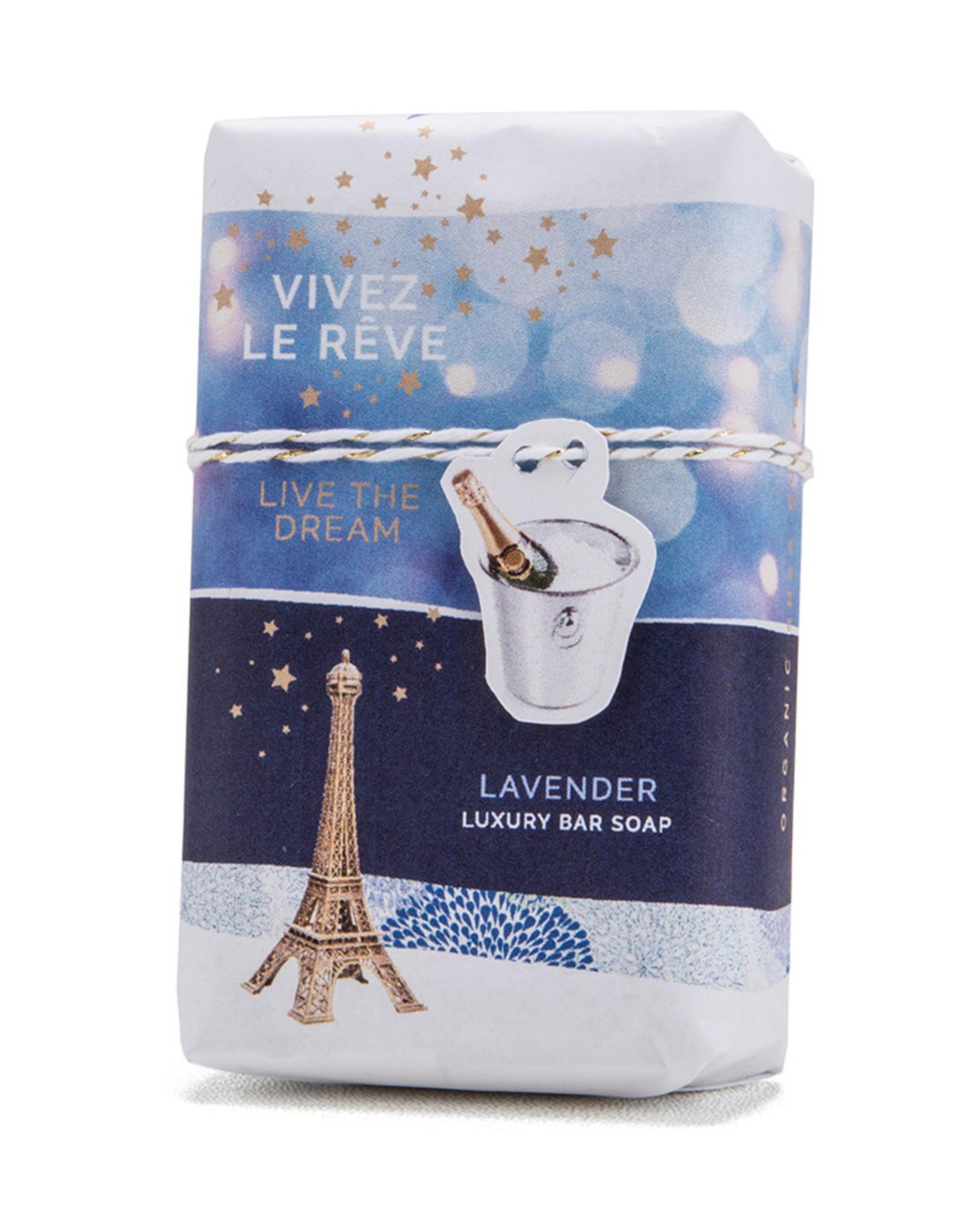 Live the Dream - Lavender -Mistral Les Sentiments Soap