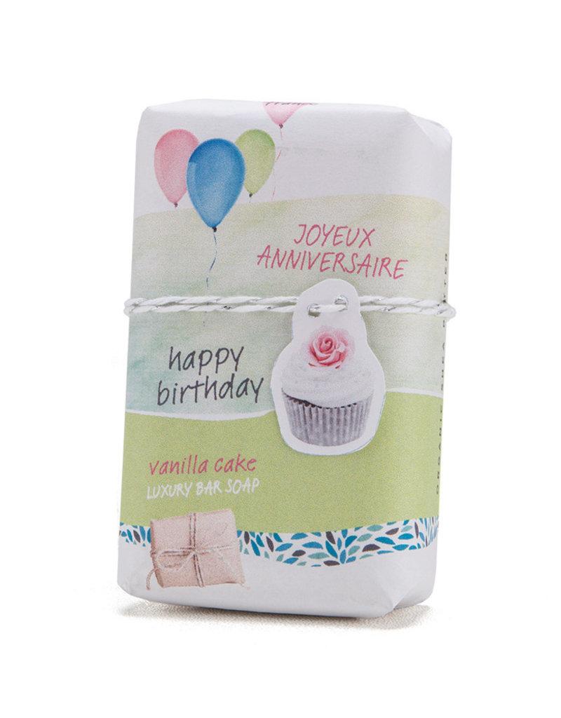 Happy Birthday - Vanilla Cake - Mistral Les Sentiments Soap