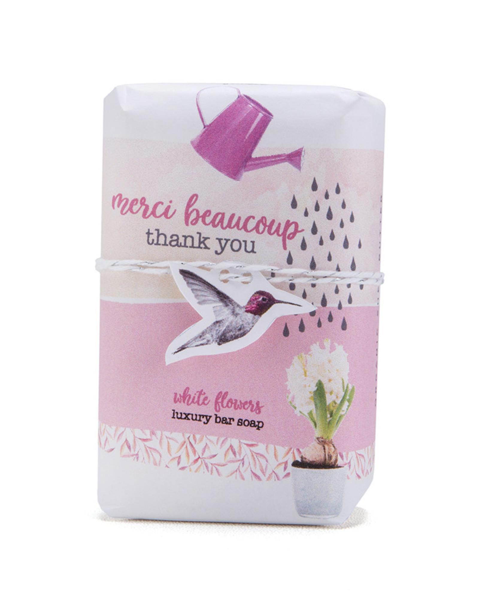 Thank You! - White Flowers - Mistral Les Sentiments Soap