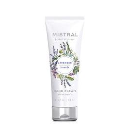 Lavender Hand Cream - Mistral Classic Collection - 2.5 oz/75 ml