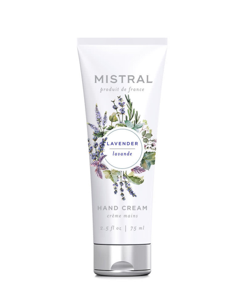 Lavender Hand Cream - Mistral Classic Collection - 2.5 oz/75 ml