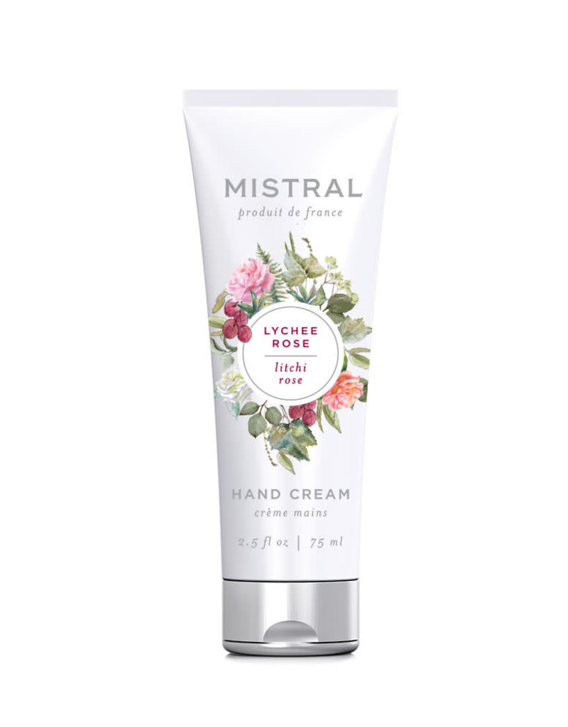 Lychee Rose - Mistral Classic Collection Hand Cream - 2.5 oz/75 ml