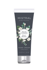 White Flower Hand Cream - Mistral Classic Collection - 2.5 oz/75 ml