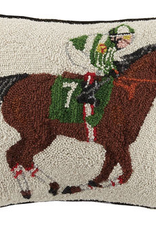 Equestrian Racer Hook Pillows 16 x 22