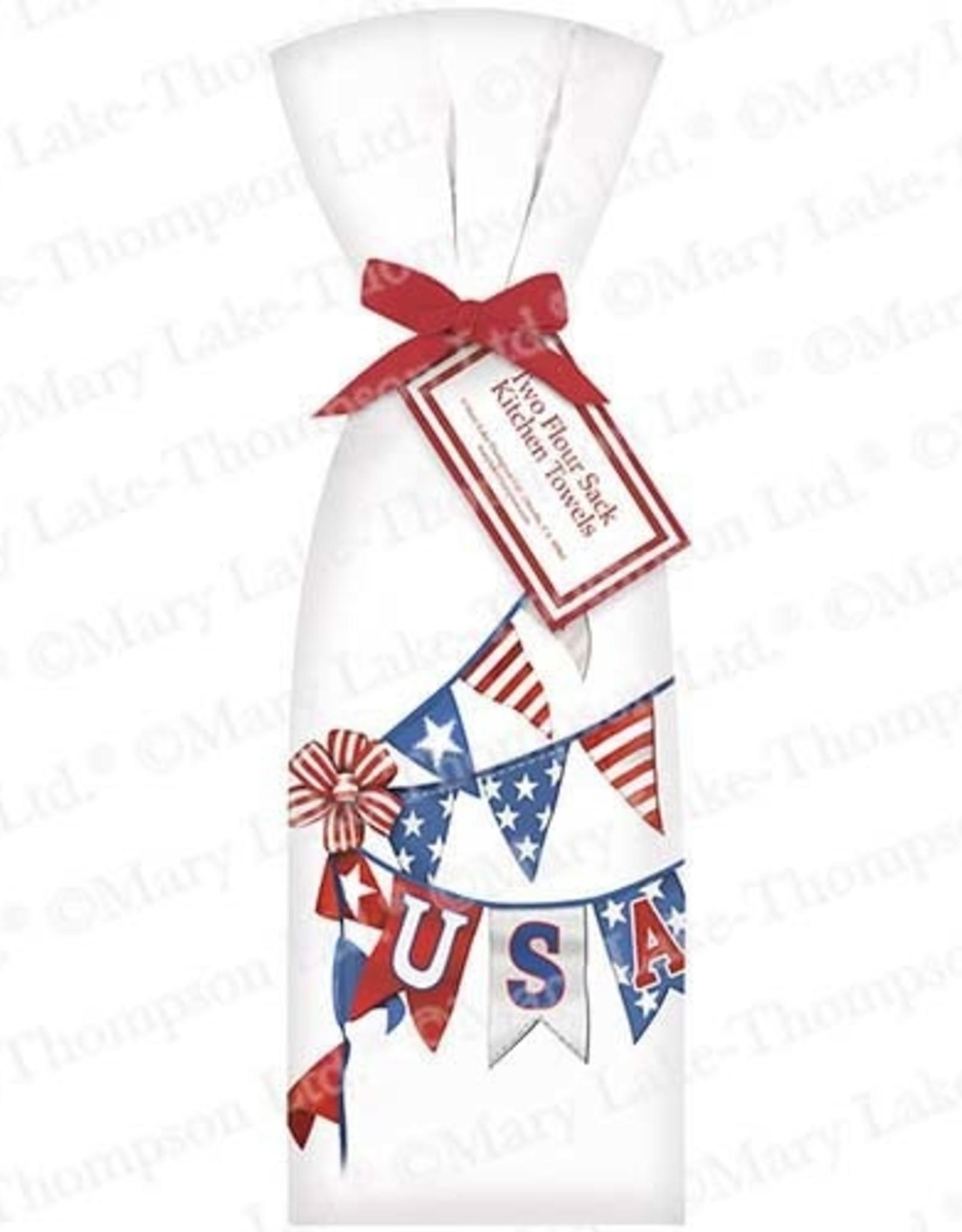 USA Banner Towel Set