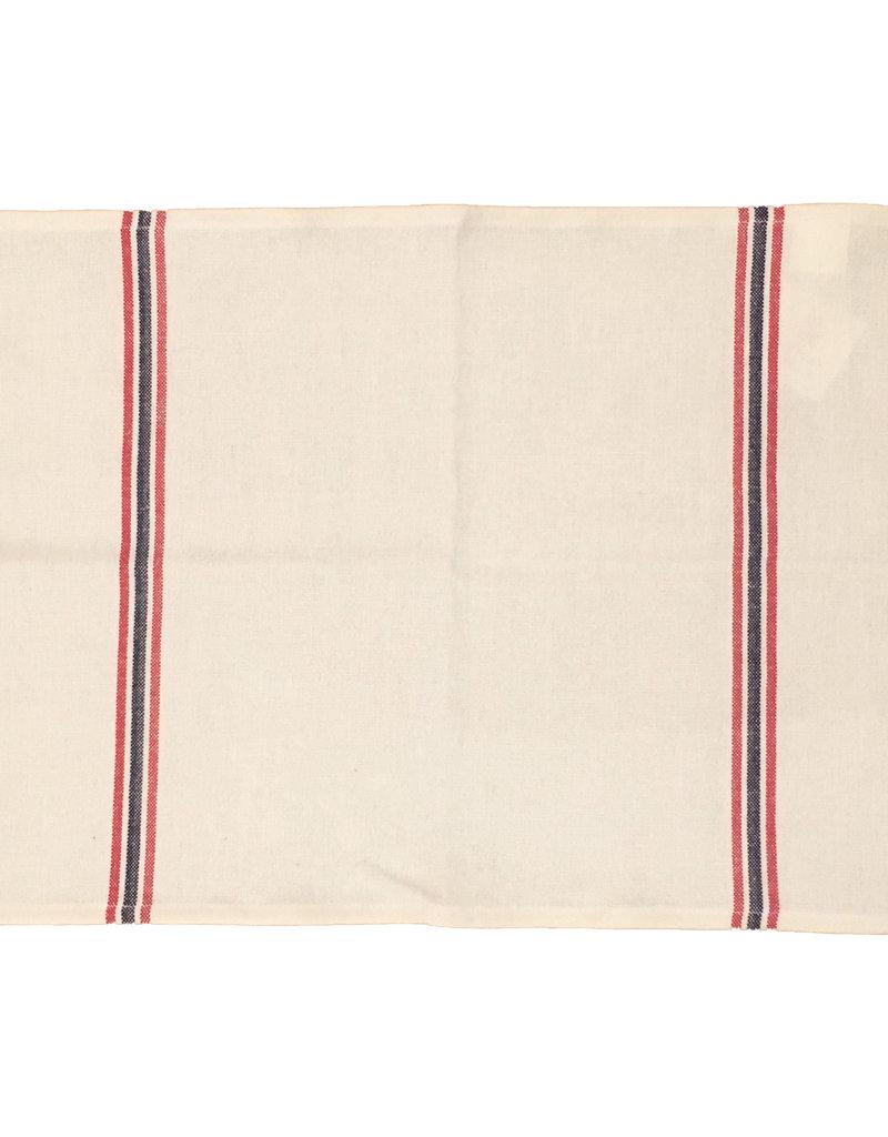 """Charvet Editions - Placemat Drapeau White 21""""x16"""""""