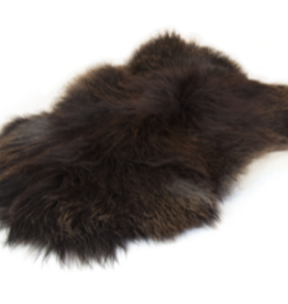 Sheepskin Rug - Iceland Black/Brown