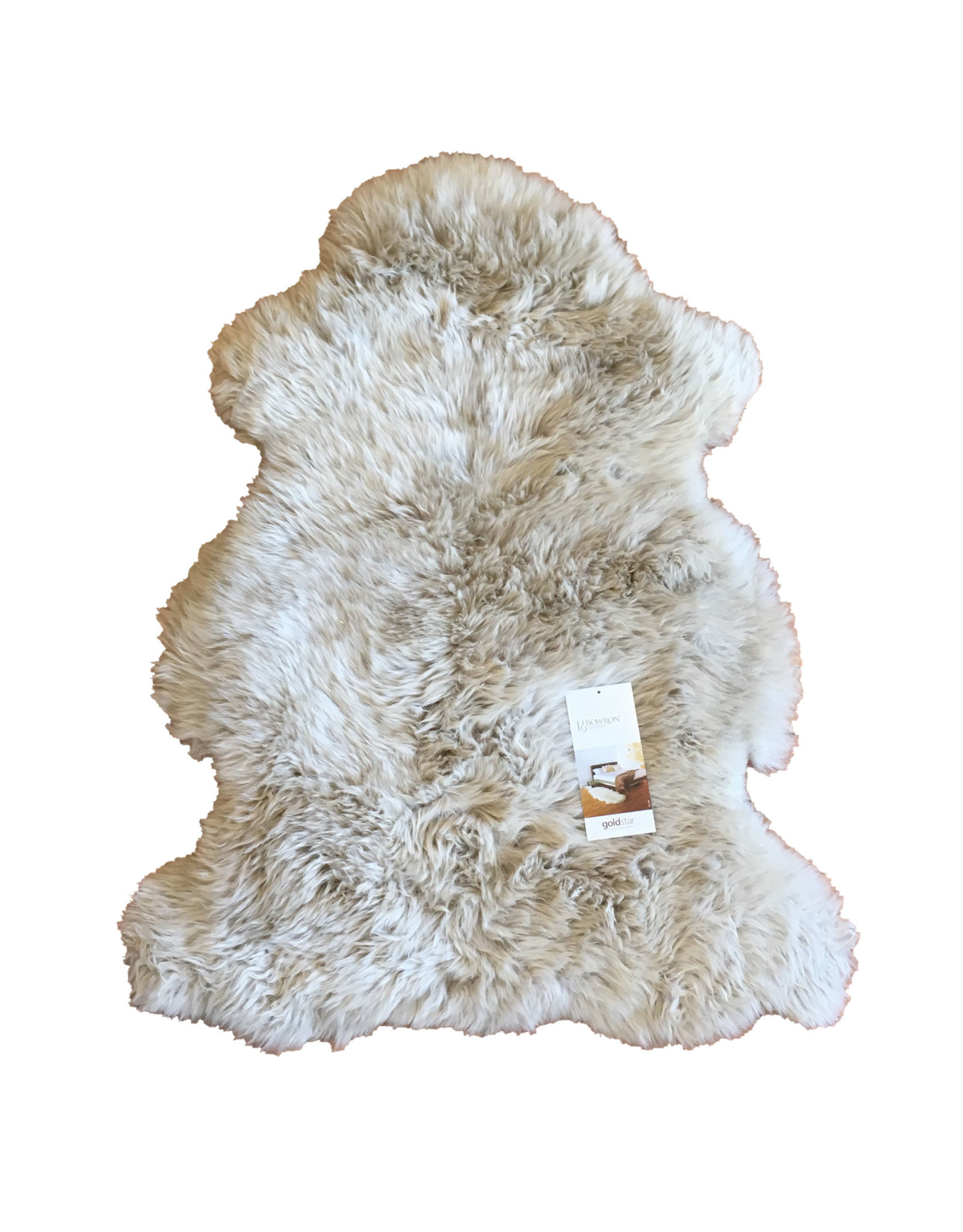 Sheepskin Rug - Stone - Single