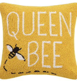 Queen Bee Hook Pillow - 16 x 16