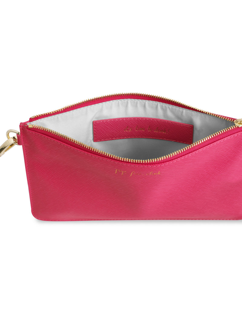 Katie Loxton SMP - Pop Fizz Clink/It's Time to Drink - Fushia Pink