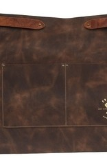 Crafted Leather By European Splendor Cognac - Crafted Leather Vingtage Half Apron