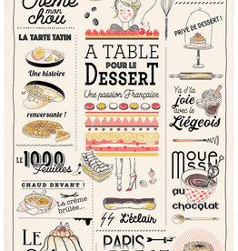 42F Distribution French Dessert Dish Towel