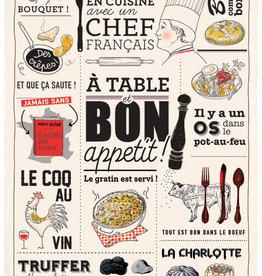 42F Bon Appetit Dish Towel
