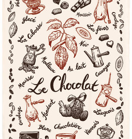 42F Distribution Chocolate Dish Towel