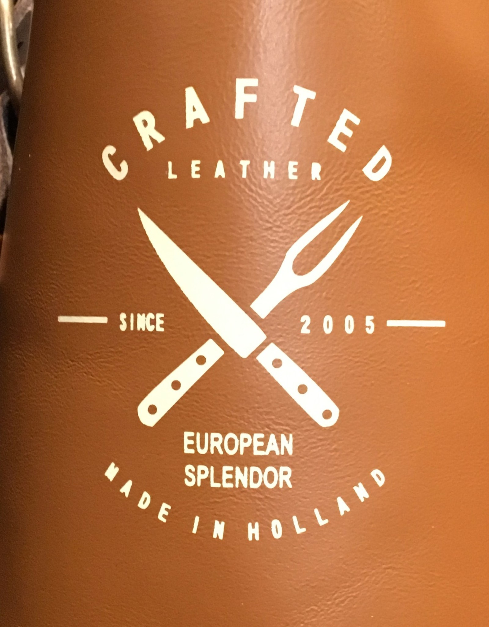 Light Cognac - Crafted Leather Classis Apron