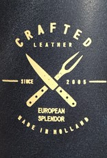 Crafted Leather By European Splendor Blue - Crafted Vintage Leather Apron