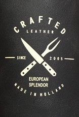 Black - Crafted Vintage Leather Apron