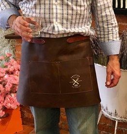 CL By European Splendor Cognac - Crafted Leather Vingtage Half Apron