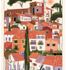 42F Provence Dish Towel
