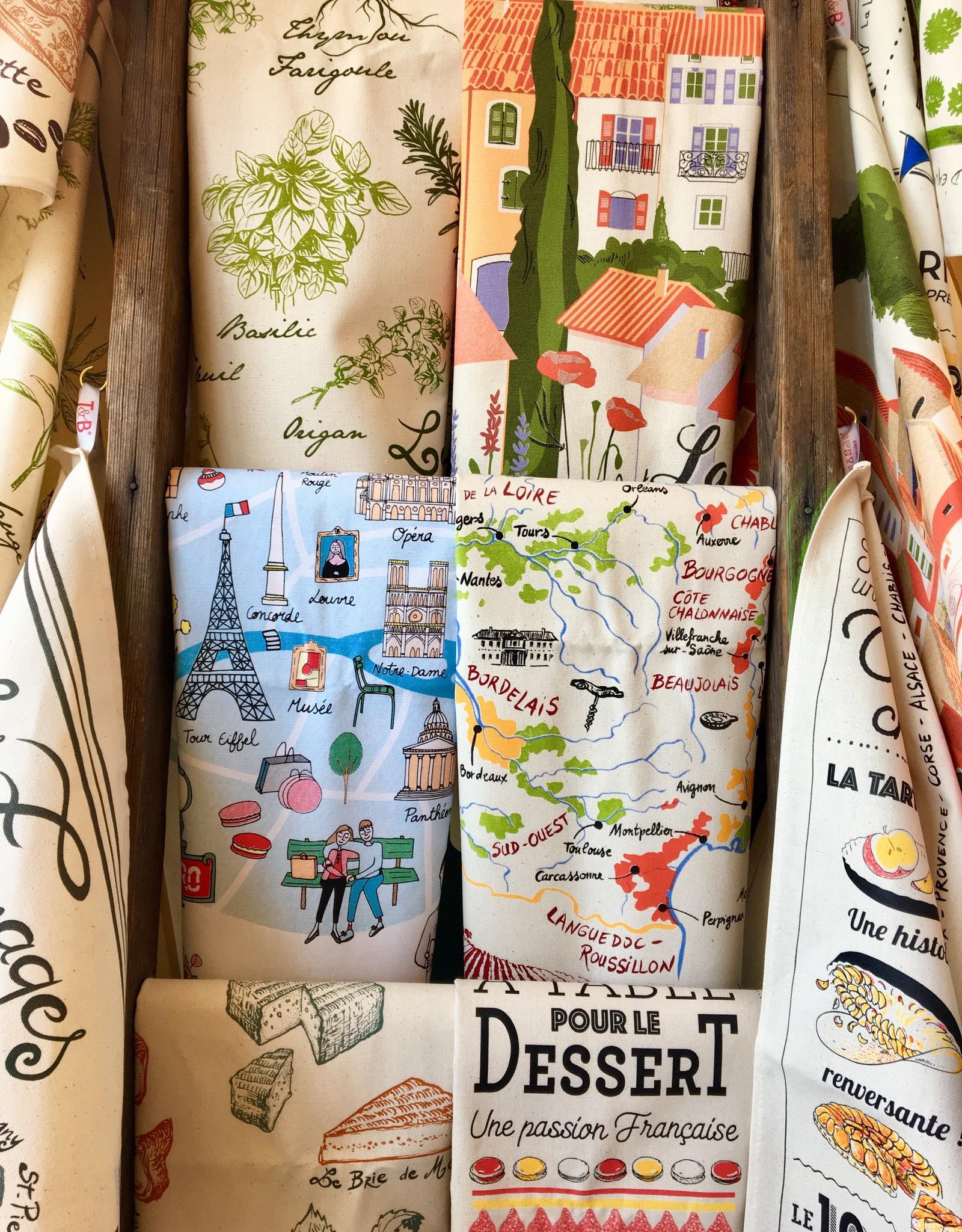 SDE Herbes de Provence Dish Towel