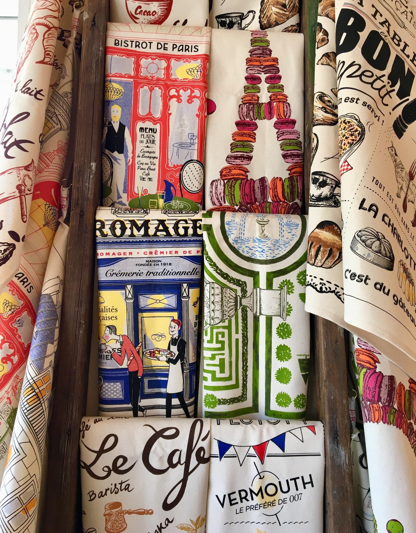 SDE Bistro de Paris Dish Towel