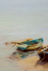 """Gold In The Lake - Oil on Canvas. 30"""" x 48"""" Ewa Perz"""