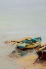 """Gold In The Lake - Oil on Convas. 30"""" x 48"""" Ewa Perz"""