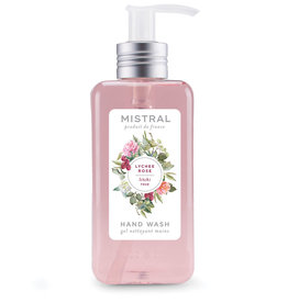 Lychee Rose Hand Wash 10 oz. - Mistral Signature Collection
