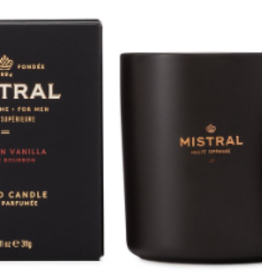 Bourbon Vanilla Candle - Mistral Men's Collection