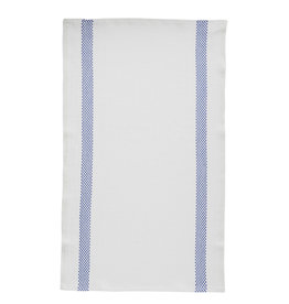 Bistro/Tea Towel Lustucru white/blue - Charvet Editions