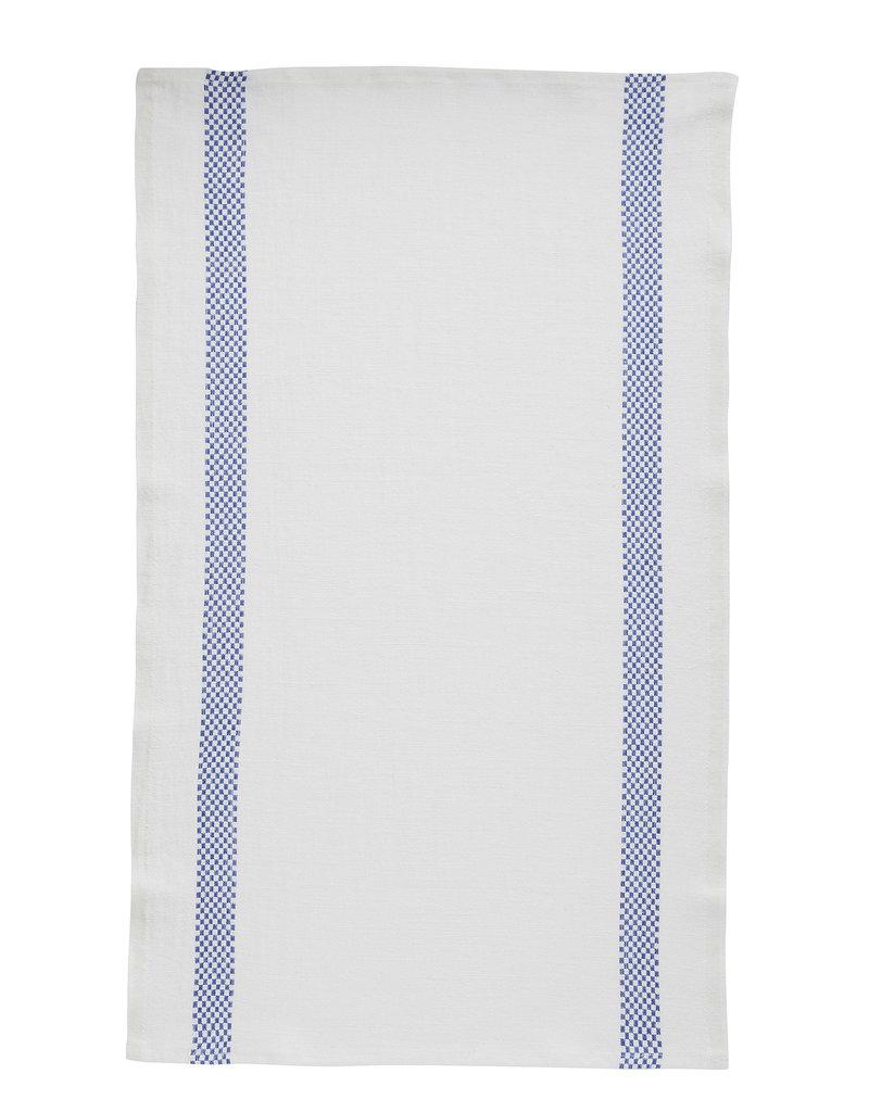 Bistro/Tea Towel Lustucru white/blue - Charvet Editions
