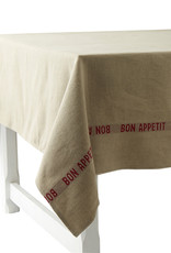 "Table Cloth - Bon Appetit Red 61"" x 126'"