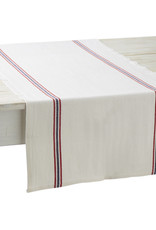 Table Runner - Drapeau White - Charvet Editions