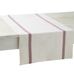 Charvet Editions - Table Runner - Drapeau White
