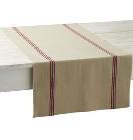 Table Runner - Drapeau Natural - Charvet Editions