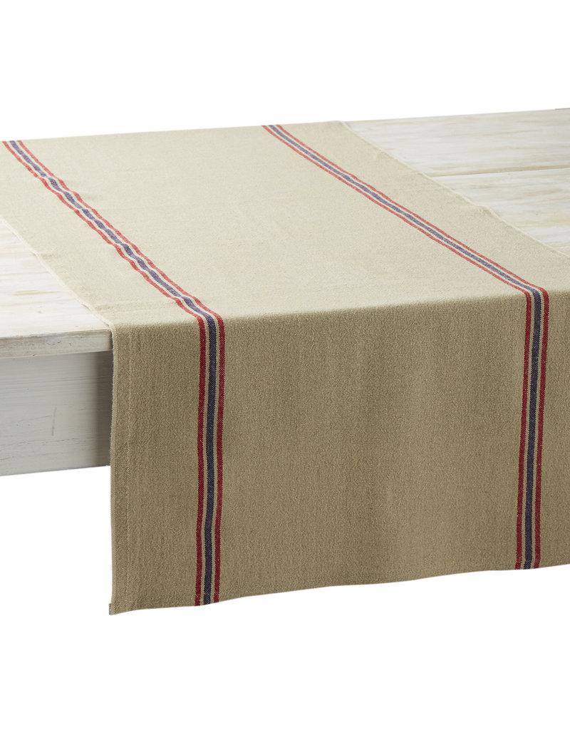 Table Runner - Drapeau Natural - Charvet Editions