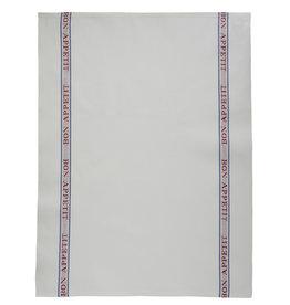 Charvet Editions Charvet Editions - Bistro/Tea Towel - Bon Appetit red Cotton