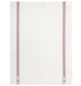 Charvet Editions - Bistro/Tea Towel Vichy/Coq Cotton