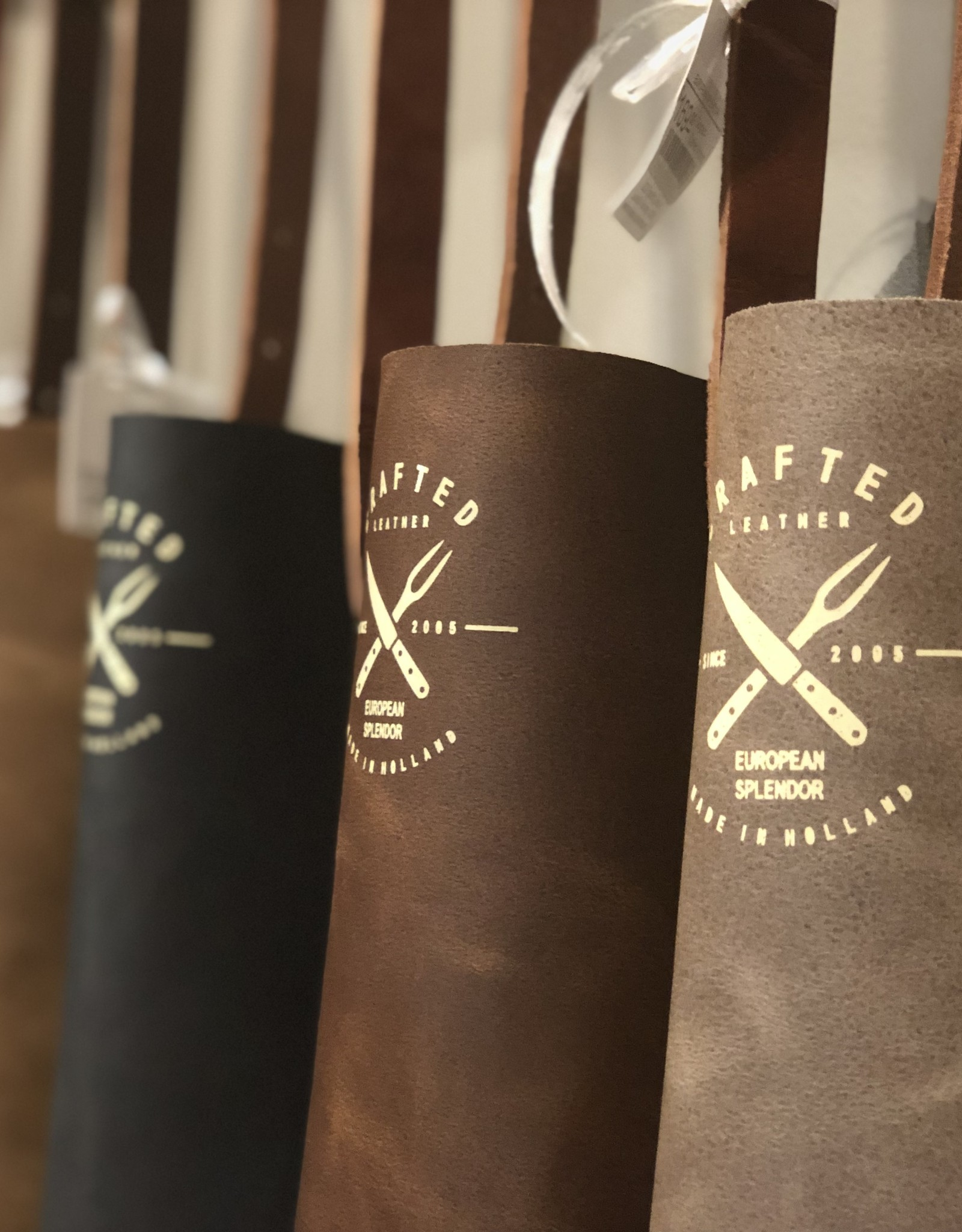 CL By European Splendor Cognac - Crafted Vintage Leather Apron