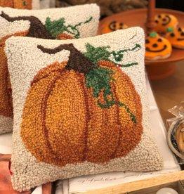 """Pumpkin Hook Pillow 10X10"""""""