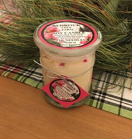 Fir Needle/Beach Rose Soy Candle - 12 oz