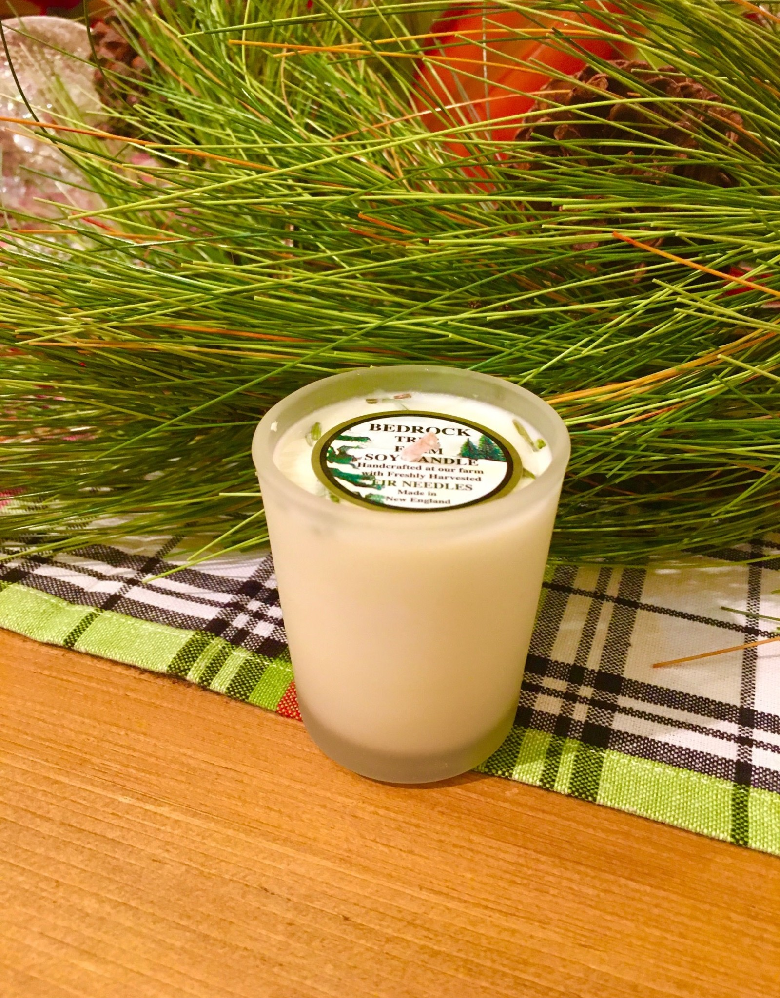 Fir Needle Soy Candle Votive