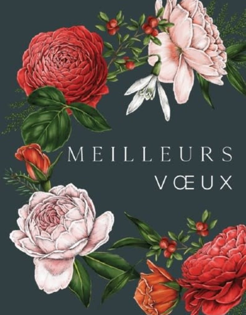 PGC Meilleurs Voeux (Best Wishes) Greeting Card