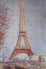 PGC La Tour Eiffel (Georges Seurat) Greeting Card