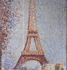 La Tour Eiffel (Georges Seurat) Greeting Card