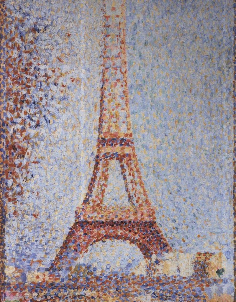 PGC La Tour Eiffel (Georges Seurat) Greeting Card
