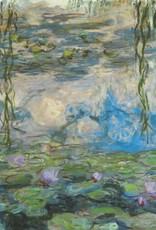 "PGC Nympheas (Claude Monet) Greeting Card - 6"" x 6"""
