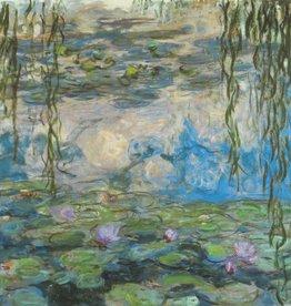 """Nympheas (Claude Monet) Greeting Card - 6"""" x 6"""""""