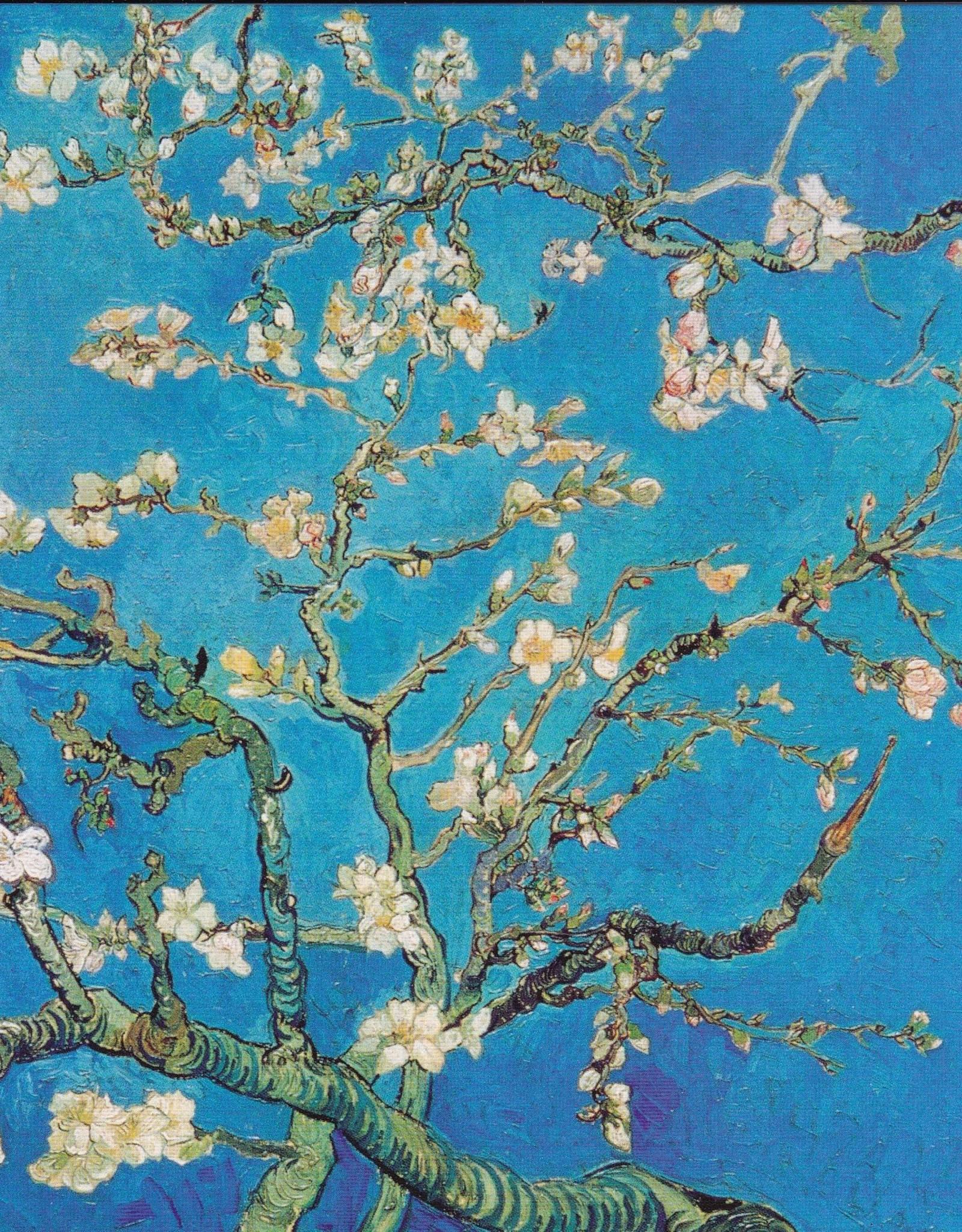 """PGC Fleurs D'Amandier (Vincent Van Gogh) Greeting Card - 6"""" x 6"""""""